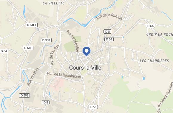 Agence immobilière Cabinet Lachassagne Cours-la-Ville